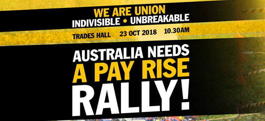 Australia Needs a Pay Rise Rally