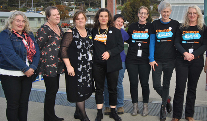 ASU Women front and centre at the Unions Tasmania 2018 Women's conference!!