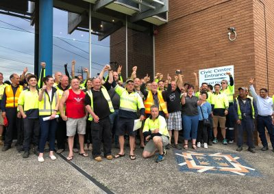 Win for ASU Members at Moonee Valley City Council!