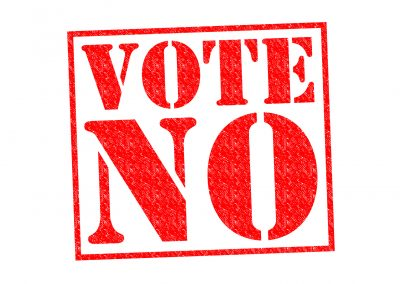 Vote no to show the Aurora Energy what you think of their tactics