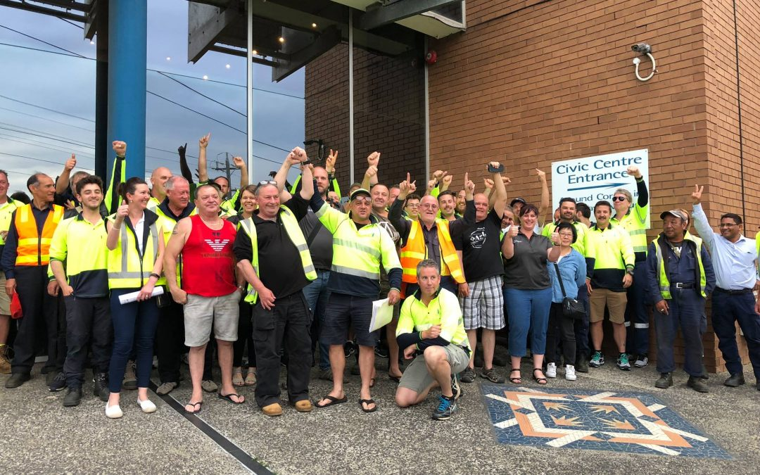 Moonee Valley Council Depot Saved (for now)!