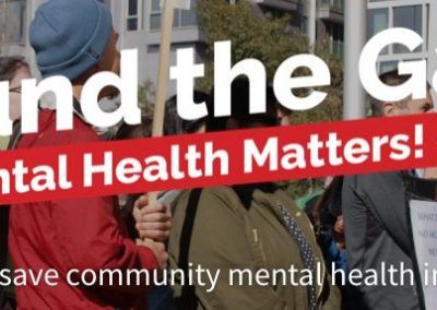 Federal Government must commit to Community Mental Health funding