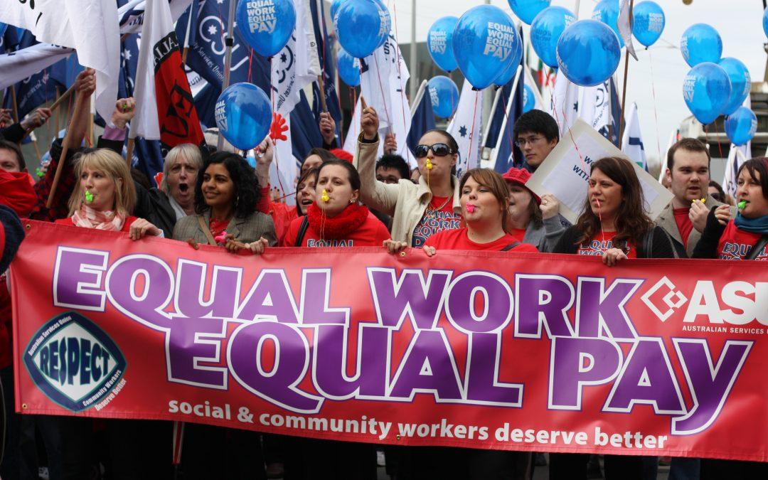 Equal Pay Celebration at Berry St Eaglemont