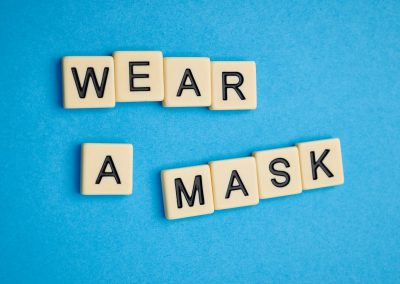 Let us know if you need a face mask