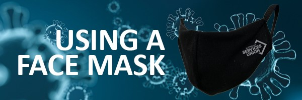 Using a face mask